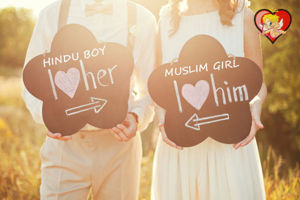 Hindu Muslim Love Marriage in India, Success Stories, Problems, Act, Images, Statistics